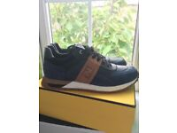 7f0822d76 Fendi Lv trainers size 9 new with box