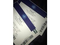 X2 seated future tickets 02 23rd oct