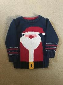 Next Boys Christmas jumper 2-3 yrs