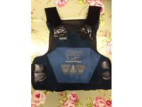 Body Armour with Plates. Used for Private Security