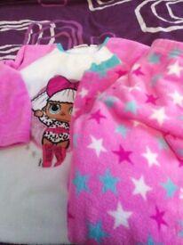 Fleecy girls lol pyjamas. Fit age 6 / 7 years