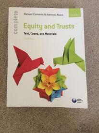 Equity and Trusts. Text, Cases, and Materials