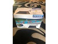 Intex pool heater brand new