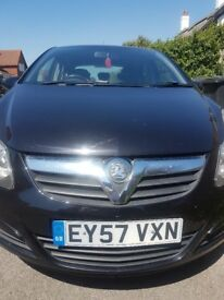 Black Vauxhall corsa Manual CDTI turbo sport