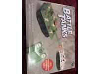 Rc battle tanks remote controlled
