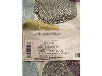 Royal Blood Ticket - Alexandra Palace London Monday 20th Nov