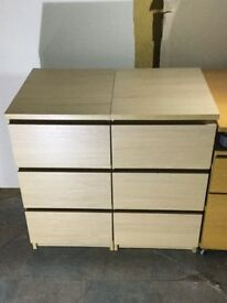 Ikea malm bedside table x 2 £40 Each