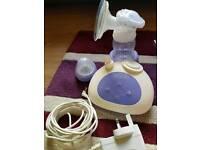 Electric pump breast