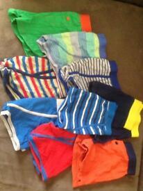 Bundle of boys boxer shorts