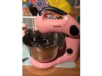 Breville pink cake mixer