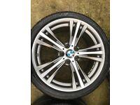 BMW ALLOY WHEELS 19 INCH 407 STYLE