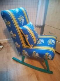 Leeds rhinos rocking chair