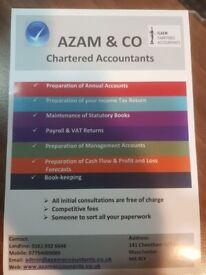 AZAM & CO CHARTERED ACCOUNTANTS