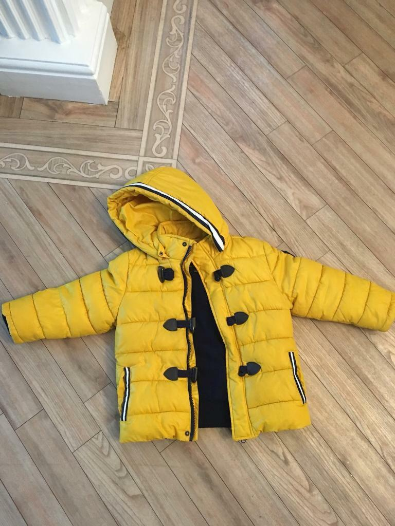 Boys mayoral coat