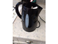 REDUCED - Cookworks Fast Boil Kettle - Black