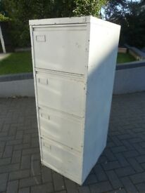 4 Drawer old Style Filing Cabinet