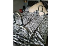chrome bed guard adults or older child
