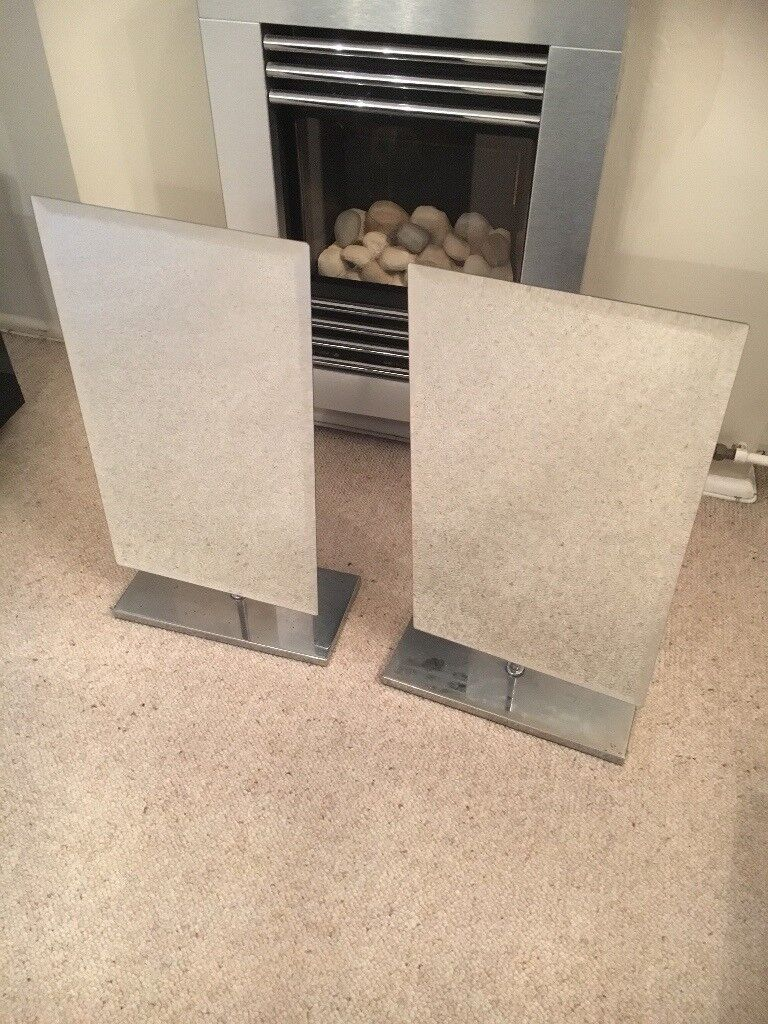 Two free standing mirrors