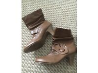 New look tan ankle boots size 6