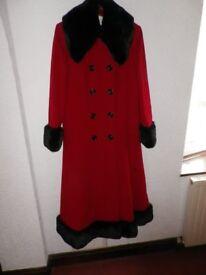 New - Ladies size 12 UK wintercoat by Windsmoor. Wool/Cashmere blend. Never worn.