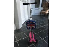 Maxi Micro Scooter - Neon Pink - Age 6 to 12 years