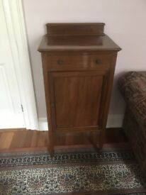 MAHOGANY FREE STANDING CABINET