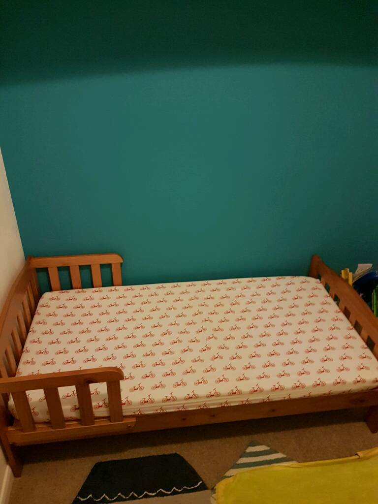 Mothercare pine junior bed