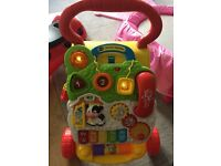 Vtech first steps baby walker with lights & music