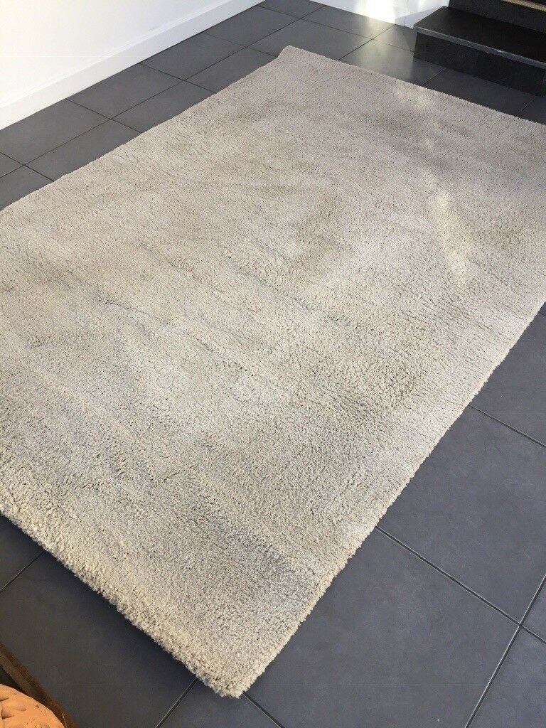 Cream Rugs Ikea Adum As New In
