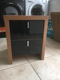 Hygena bedside table and free chest of drawers