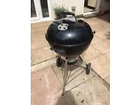 Weber master touch kettle BBQ barbecue 57cm