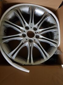 "Used set of 4 BMW M sport 18"" Alloys"