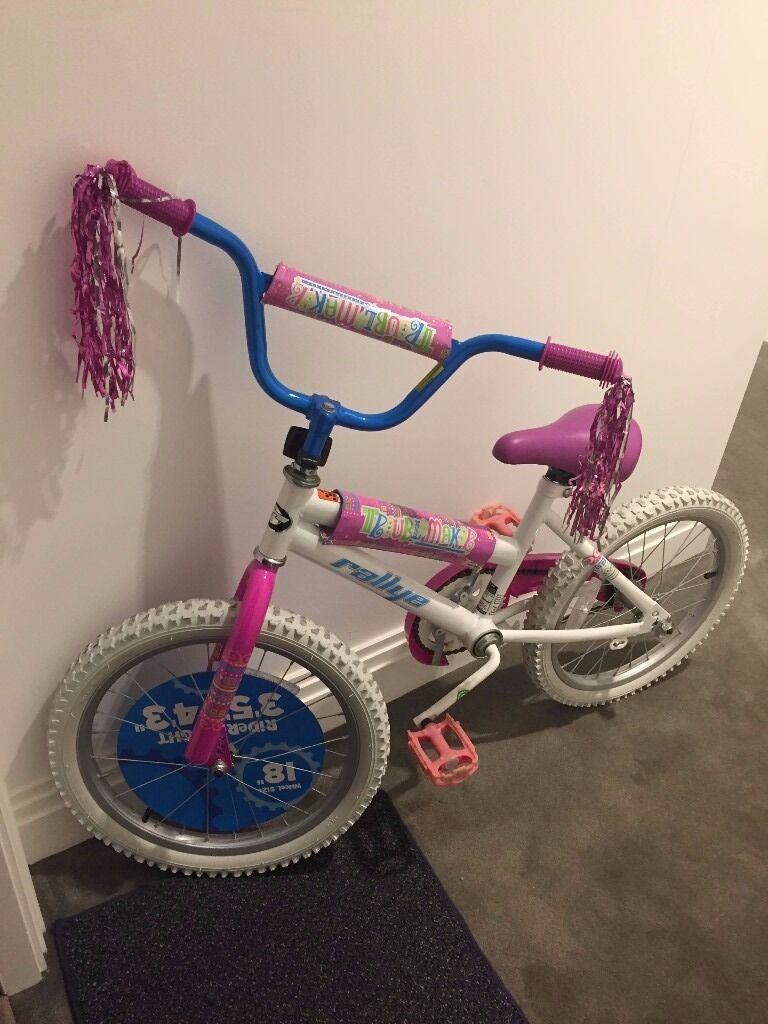 Girls' 18 Inch Rallye Troublemaker Bike