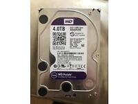 Western digital 4tb hard drive