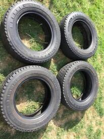 4 Michelin Agilis 81 tyres MINT CONDITION