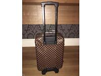 Louis Vuitton suitcase travel bag