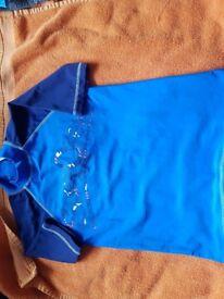 Boys swim vest /top age 9-10 next