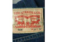 Men's levis 508 jeans