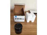 Minolta AF35-80/4-5.6 Lens