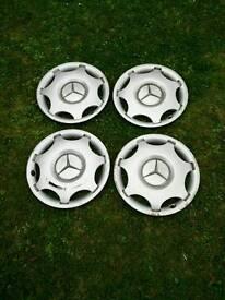 """Mercedes Benz 15"""" Hub Caps"""