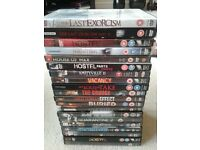 75 horror dvds movies great selection open to offers