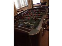 BAR FOOTBALL TABLE FOOTBALL FOOSEBALL TABLE FOR SALE £120 ONO