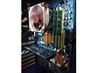 Motherboard Bundle: Core 2 Duo 3GHz / 4GB RAM / CPU Cooler+Fan / Radeon HD6450