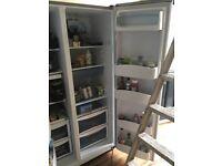 Daewoo silver fridge freezer