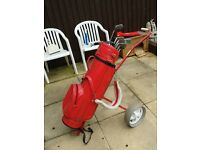 Golf Clubs/bag and Trolley
