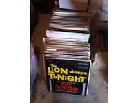 Aprox. 152 Vinyl LPs