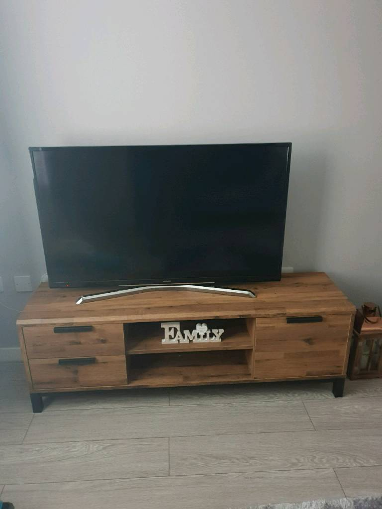 best service 08454 cf125 Next Bronx Wide Tv stand | in Darlington, County Durham | Gumtree