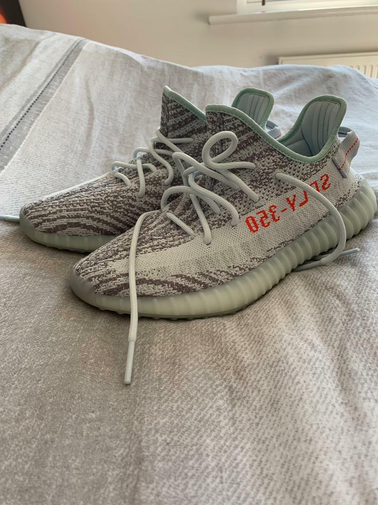 c1dd5a0a Yeezy boost 350 blue tint size 9 brand new dead stock | in Ingleby ...