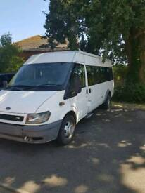 Ford transit mini bus 2.4 tdci