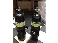 Sidemount 12L Steel Cylinder 232 Bar tanks